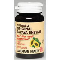American Health Papaya Enzyme Original 100 Tab