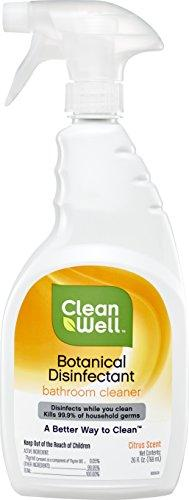 CleanWell 26 Ounce Citrus Disinfectant Bathroom Cleaner - Discontinued by manufacturer, [wellica]