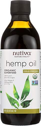 Nutiva Hemp Oil, 16 Fl Oz, [wellica]
