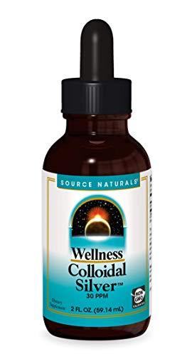 Colloidal Silver, preferred brand, Source Naturals, Source Naturals - Planetary Herbals - Wellica