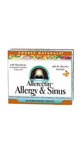Allergy Medicine, preferred brand, Source Naturals, Source Naturals - Planetary Herbals - Wellica