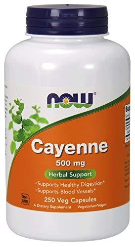 Cayenne, Herbal Supplements, Now Foods, preferred brand, virus buster, Vitamins & Dietary Supplements - Wellica