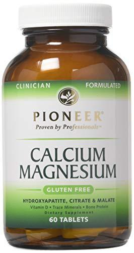 Pioneer Nutrition Calcium Magnesium Supplements, Mineral, 60 Count, [wellica]
