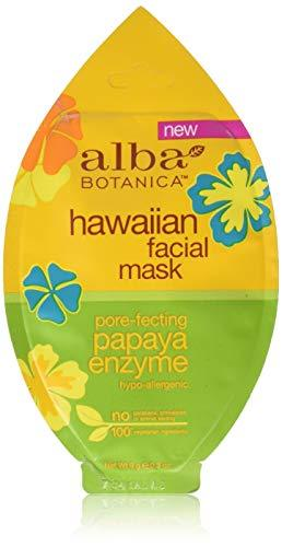 Alba Botanica Natural Hawaiian Facial Mask Pore-fecting Papaya Enzyme, 0.3 Ounce