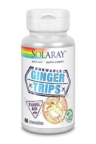 Ginger Trips Chewable Solaray 60 Chewable