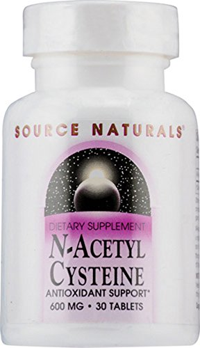 N-Acetyl Cysteine 600mg Source Naturals, Inc. 30 Tabs, [wellica]