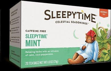 Celestial Seasonings Tea Sleepy time Mint 20 Bag, 20 ct