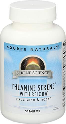 Source Naturals Serene Science Theanine Serene Supplement with Relora, GABA, L-Theanine, Magnesium & More - 60 Tablets
