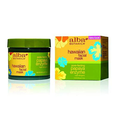 Alba Botanica - 151784 Facial Mask, Papaya Enzyme 3 oz
