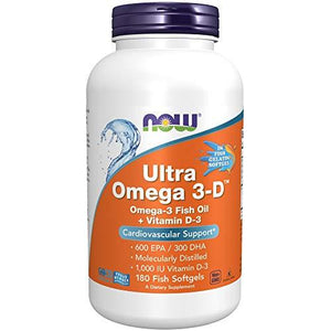 Now Foods, Omega-3, preferred brand, virus buster, Workout Supplements - Wellica