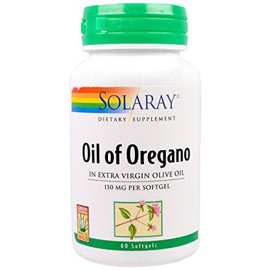 Solaray, (2 Pack) Oil of Oregano, 150 mg, 60 Softgels
