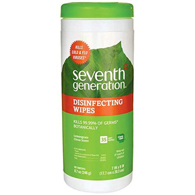 SEV22812 - Seventh Generation Disinfecting Multi-Surface Wipes, [wellica]