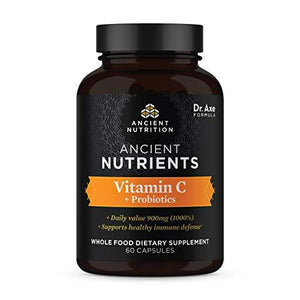 [product_id] - Ancient Nutrition, Drugstore, virus buster, Vitamin C - Wellica