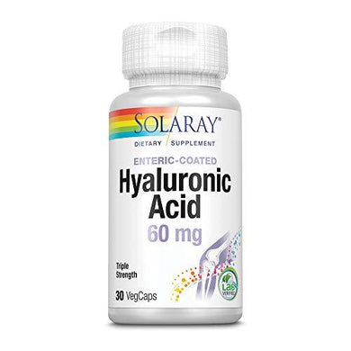 Solaray Triple Strength Hyaluronic Acid 60mg | 30 VegCaps