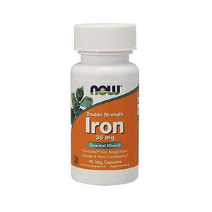 Iron, Now Foods, preferred brand - Wellica
