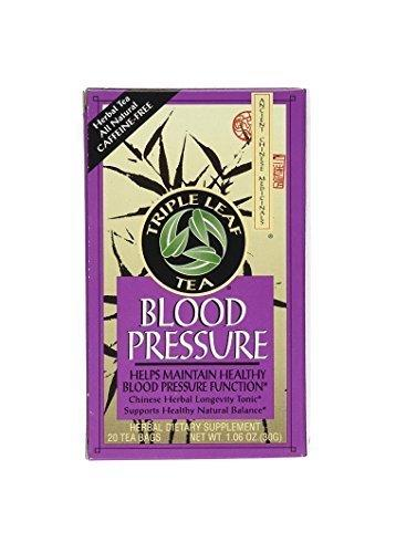 Triple Leaf Tea Blood Pressure -- 20 Tea Bags - 2 pc