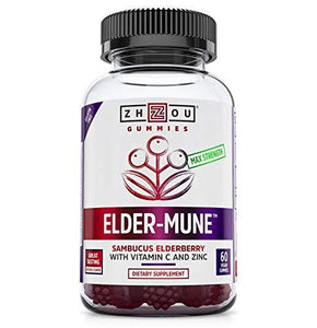 Elderberry, preferred brand, virus buster, Zhou Nutrition - Wellica