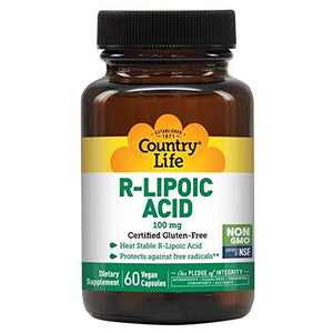 Alpha Lipoic Acid, Antioxidants, Country Life, Supplements, virus buster, Vitamins & Dietary Supplements - Wellica