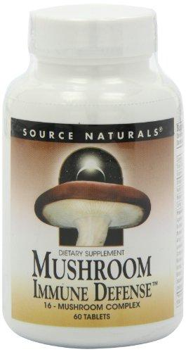 Mushrooms, preferred brand, Source Naturals, Source Naturals - Planetary Herbals - Wellica