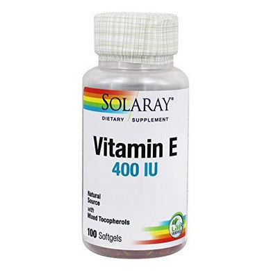 Vitamin E-400 IU Solaray 100 Softgel