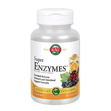 Kal Super Enzymes Tablets, 60 Count