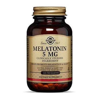Solgar – Melatonin 5 mg, 120 Nuggets, [wellica]