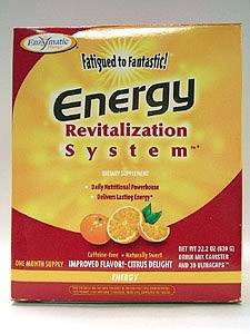 Fatigued to Fantastic! Energy Revitalization System Tropical Citrus Flavor - 24.