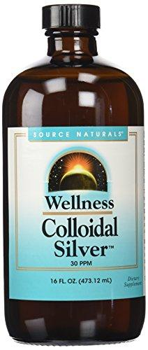 Colloidal Silver, Drugstore, preferred brand, Source Naturals SOURCE NATURALS wellica.com 5708286886052