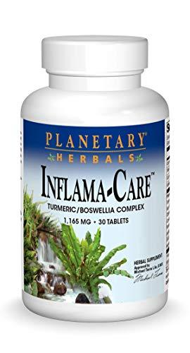 Planetary Herbals Inflama-Care 1165 mg Turmeric, Boswellia Complex - 30 Tablets