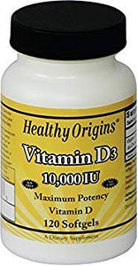 Healthy Origins, virus buster, Vitamin D, Vitamins, Vitamins & Dietary Supplements - Wellica
