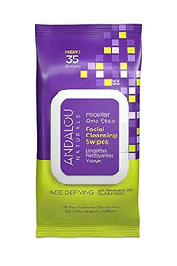 [product_id] - Andalou Naturals, Beauty, Cloths & Towelettes, Hair-Skin-Nail Support, preferred brand - Wellica