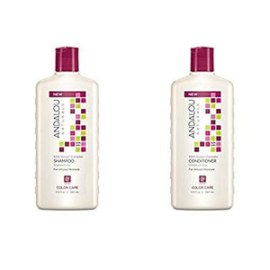 [product_id] - Andalou Naturals, Beauty, Hair-Skin-Nail Support, preferred brand, Shampoo & Conditioner Sets, virus buster - Wellica