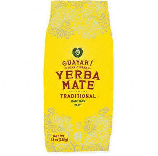Guayaki Traditional Organic Mate Tea, 7.9oz (225g), 75 Tea Bags, [wellica]
