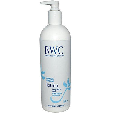Beauty Without Cruelty Botanical Lotion Fragrance Free - 16 Fl Oz, 2 Pack