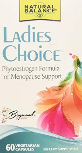 Natural Balance Ladies Choice Capsules, Menopause Support, 60-Count