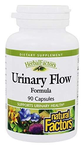 Natural Factors - HerbalFactors Urinary Flow Formula, Supports Urinary Health, 90 Capsules