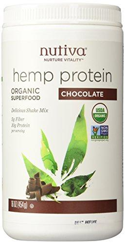 Nutiva Hemp Shake - Chocolate - 16 OZ, [wellica]