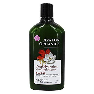Avalon Organics, Shampoo Deep Hydration Maple Sap And Magnolia, 11 Ounce, [wellica]