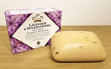 Nubian Heritage Bar Soap Lavender And Wildflowers - 5 oz, [wellica]