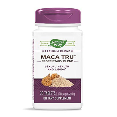 Enzymatic Therapy Maca Tru 1000mg Vitality and Stamina, 30 Count