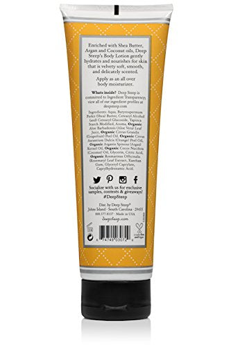 Deep Steep Body Lotion, 8 Ounce (Grapefruit Bergamot)