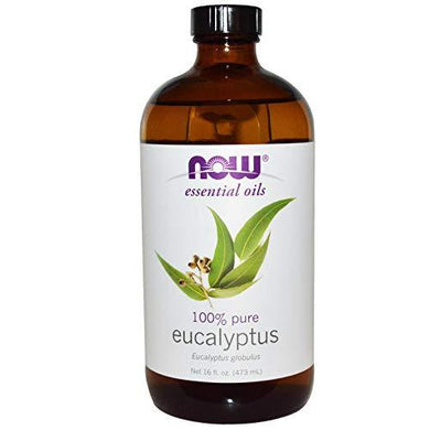 NOW Eucalyptus Essential Oil, 16 fl. oz. (2-pack), [wellica]