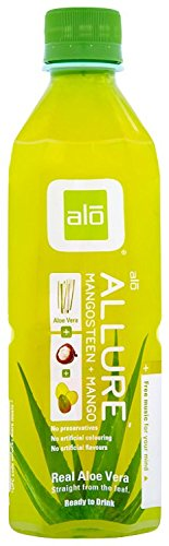 ALO Aloe Vera Drink, 16.9-Ounce Bottles (Pack of 12), [wellica]