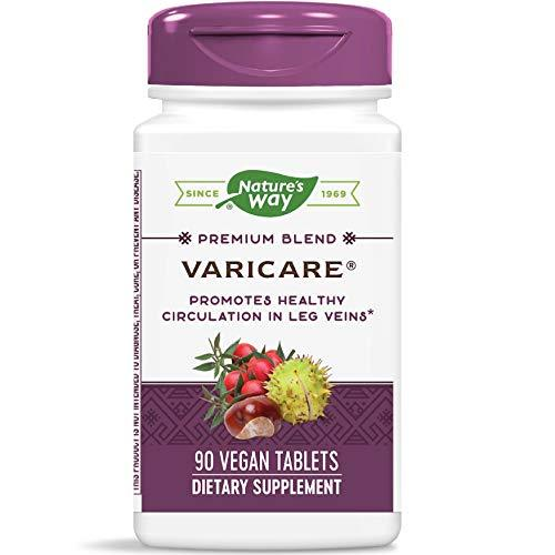 Nature's Way VariCare Promotes Circulation & Tone in Leg Veins, 90 Count, [wellica]