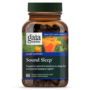 Gaia Herbs, Medicinal Sleep Aids, preferred brand - Wellica