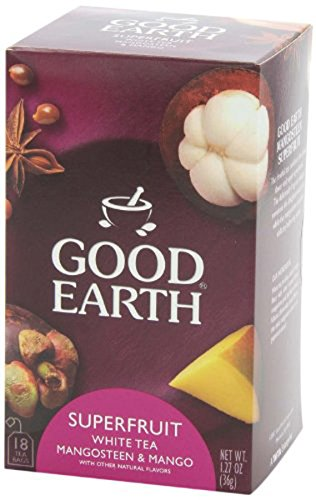 Good Earth Mango Me Crazy White Tea, 18 Tea bags
