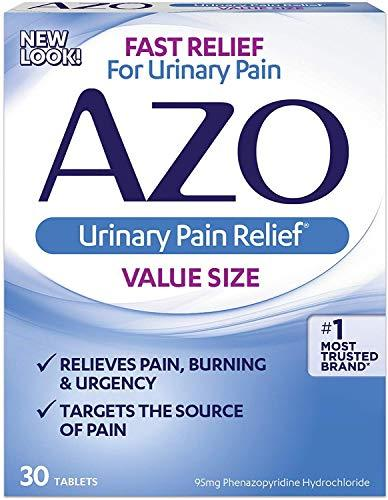 AZO Standard Urinary Pain Relief - 30 Tablets, [wellica]
