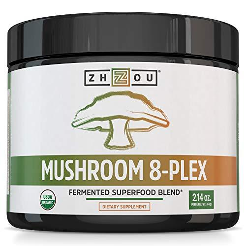 Mushrooms, preferred brand, Zhou Nutrition - Wellica