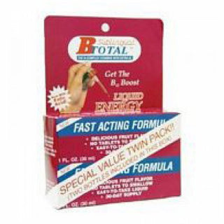 Sublingual Products Subling B Total Bonus Pack 2-Bottles,1 Oz.Each