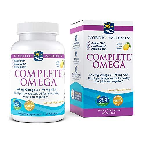 Bone & Joint, Bone and Joint, Hair-Skin-Nail Support, Nordic Naturals, Omega-3, preferred brand, Workout Supplements - Wellica